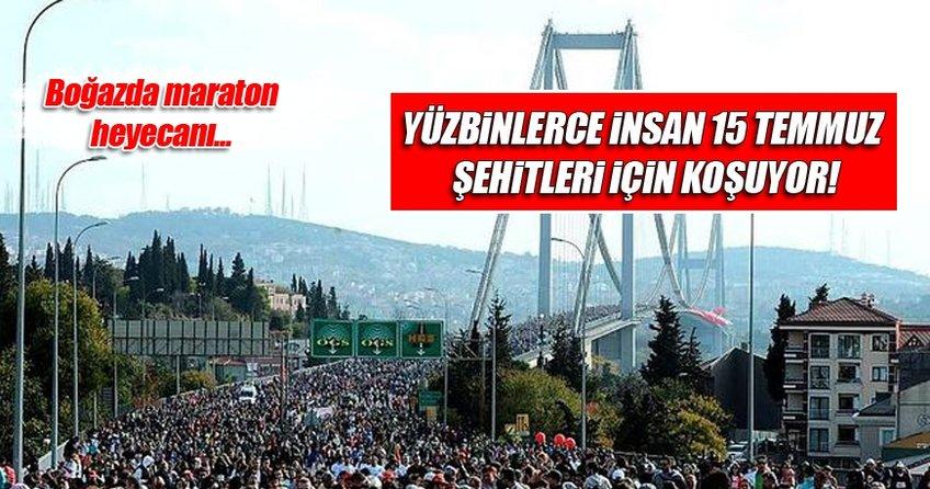 Vodafone 38. İstanbul Maratonu için start verildi