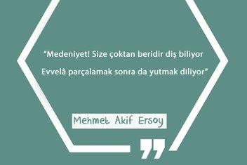 Mehmet Akif'in şiirlerindeki sömürgeci Batı'ya meydan okuma