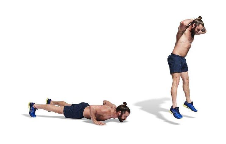 Bu vücut ağırlığı mücadelesi,kalori yakmak için metabolizmanızı şok ediyor.
