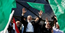 Hamas chief says ready to meet Palestinian president