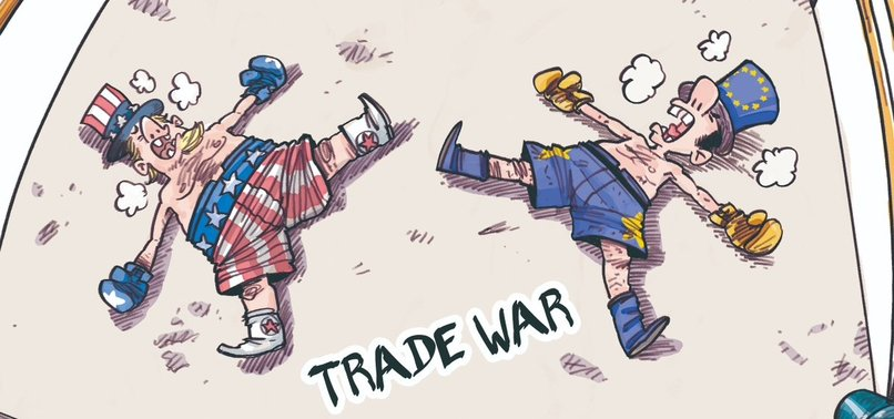 EU SLASHES EUROZONE GROWTH FORECAST ON US TRADE WAR TENSIONS