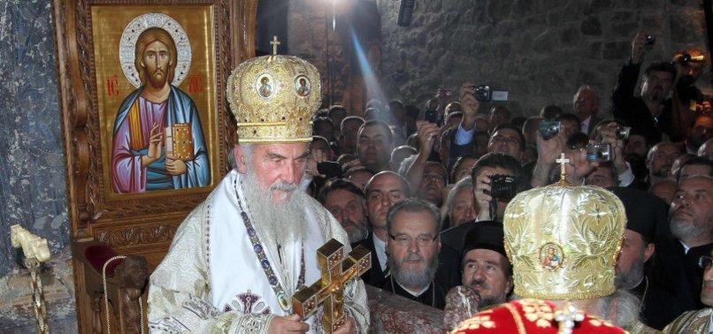 SERBIAN ORTHODOX CHURCH LEADER DIES FROM COVID-19