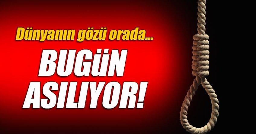 Zeynep, bugün idam ediliyor