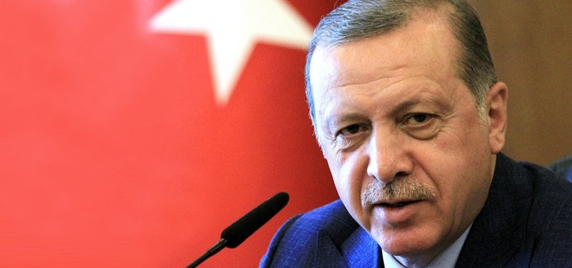 TURKEY ONLY SEEKS TO SECURE ITS FUTURE AND LIBERTY, ERDOĞAN SAYS