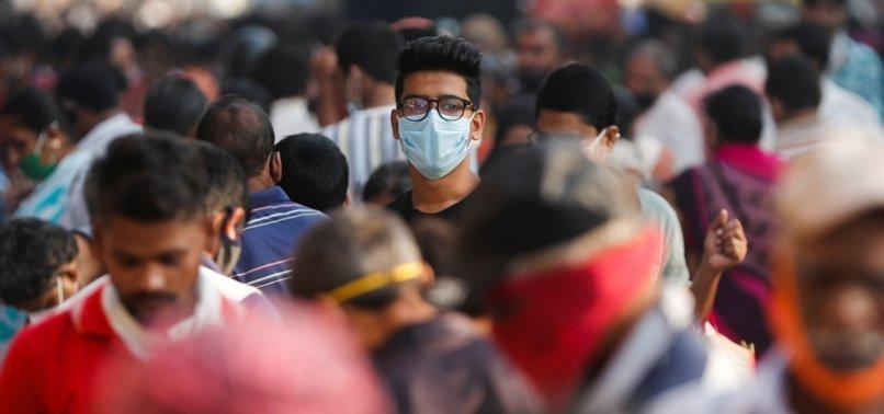 INDIA PASSES BLEAK LANDMARK OF 8 MILLION CORONAVIRUS INFECTIONS