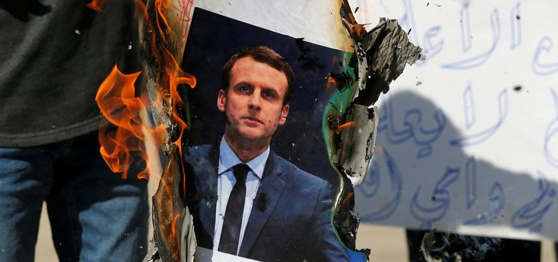 AFGHAN MUSLIMS STAGE RALLY IN KABUL TO PROTEST MACRON'S ISLAMOPHOBIC REMARKS