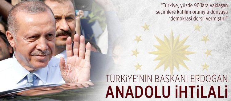 Erdoğan: Türkiye, dünyaya demokrasi dersi verdi!