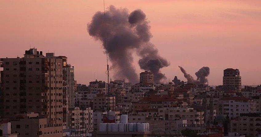 Gazzeye hava saldırısı: 2 Filistinli şehit