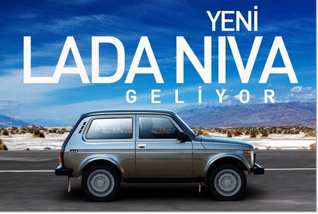 Yeni Lada Niva geliyor