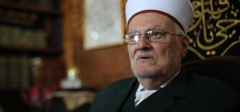 AL-AQSA MOSQUE PREACHER THANKS TURKEY FOR SUPPORTING PALESTINE