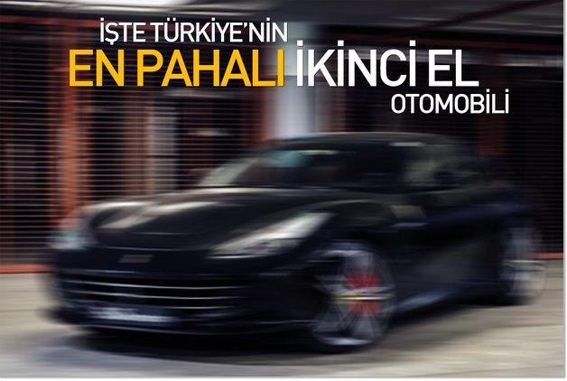 İşte Türkiye'nin en pahalı ikinci el otomobili
