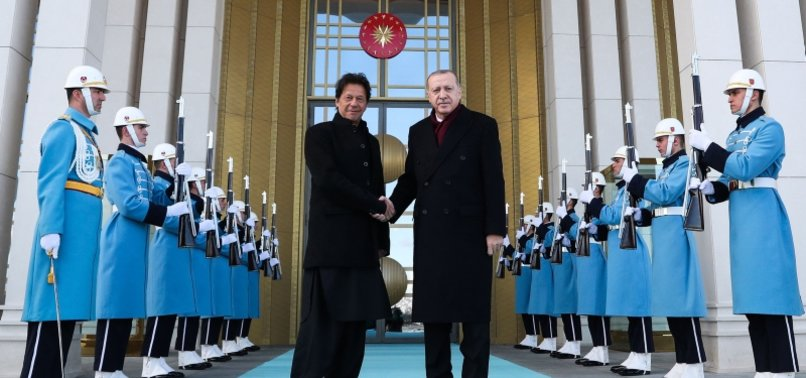 TURKISH, PAKISTAN LEADERS EXCHANGE EID AL-ADHA GREETINGS