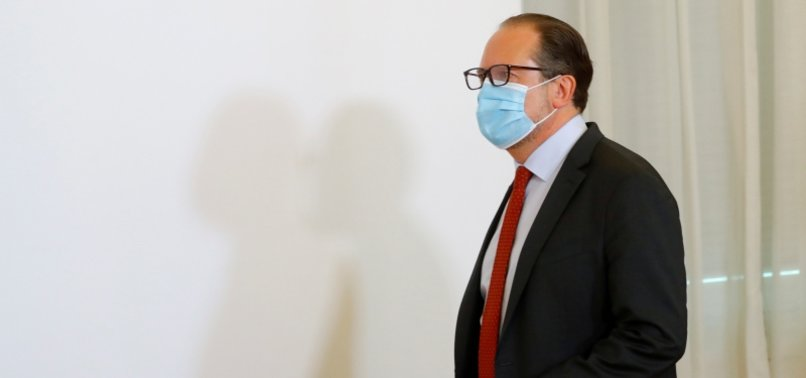 AUSTRIAN TOP DIPLOMAT TESTS POSITIVE FOR NOVEL CORONAVIRUS