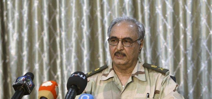 PUTSCHIST GENERAL HAFTAR AGREES TO LIBYA CEASE-FIRE TALKS, UN SAYS
