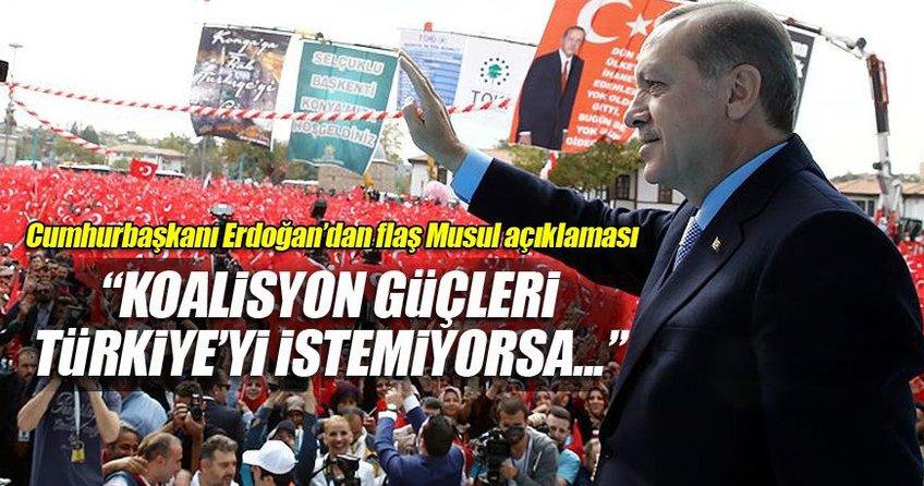 Cumhurbaşkanı Erdoğan Konya'da halka sesleniyor