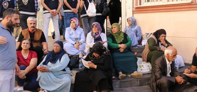 NUMBER OF KURDISH FAMILIES PROTESTING PKK FOR ABDUCTING CHILDREN REACHES 18