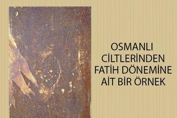 Kitaplara giydirilen zarafet: Osmanlı'da cilt sanatı