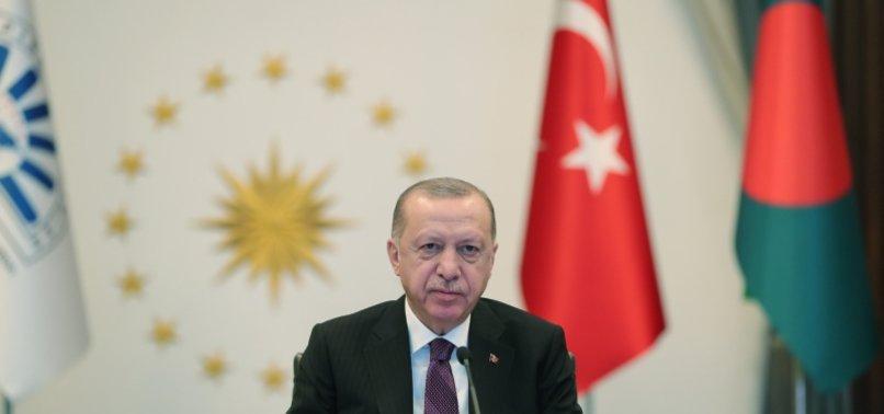 TURKEYS ERDOĞAN PROMOTES IDEA OF ISLAMIC MEGABANK