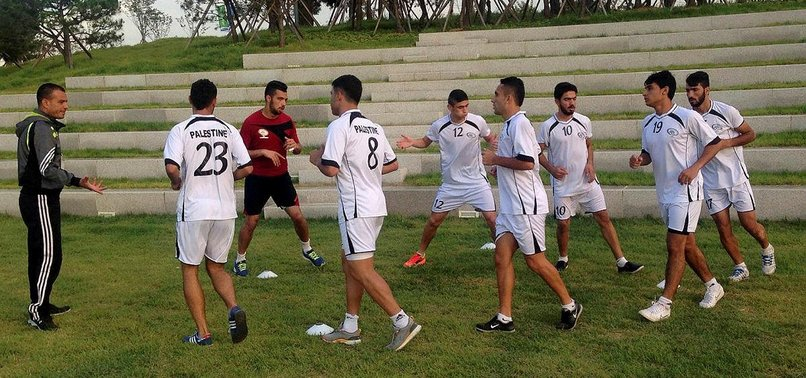 ISRAEL BANS ENTRY FOR MOST PLAYERS ON GAZA SOCCER TEAM