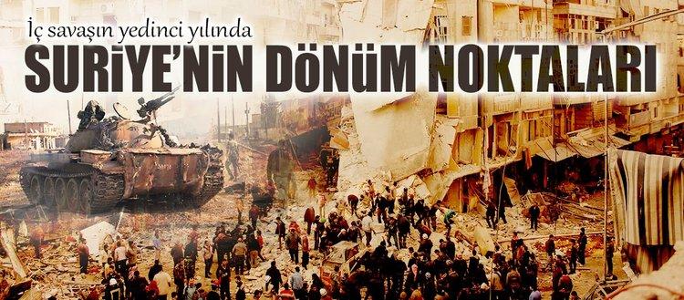 Suriye'de 2017'nin dönüm noktaları