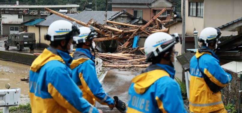 DEATH TOLL IN JAPAN FLOODS RISES TO 50