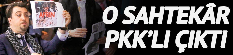 O sahtekar PKK'lı çıktı