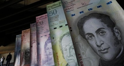 pVenezuela said it will issue higher-denominated bills as triple-digit inflation and a currency meltdown leave the country's largest note worth just around 15 Turkish liras or  just 2 U.S. cents on...