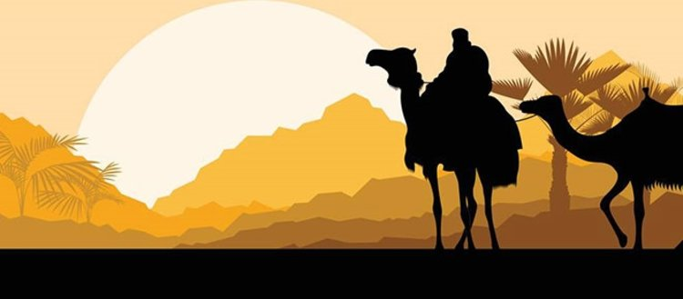 Peygamber Efendimizin şairi Hassan bin Sabit...