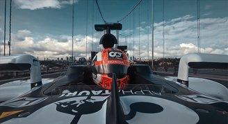 Formula 1in İstanbuldaki tanıtım filmi tüm dünyada yayında