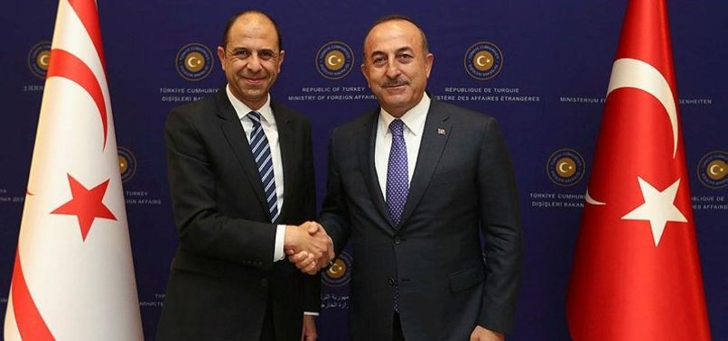 TURKISH, TURKISH CYPRIOT FOREIGN MINISTERS MEET
