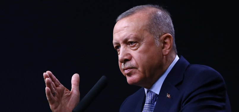 YPG/PKK HAS NO ROLE IN FUTURE OF SYRIA, PRESIDENT ERDOĞAN SAYS