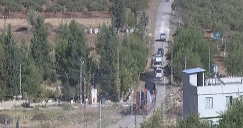 3 otobüs ÖSO askeri sınırda!