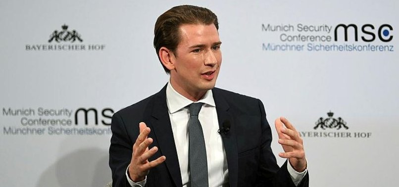 AUSTRIAS KURZ BACKS MERKEL REJECTION OF FAR RIGHT
