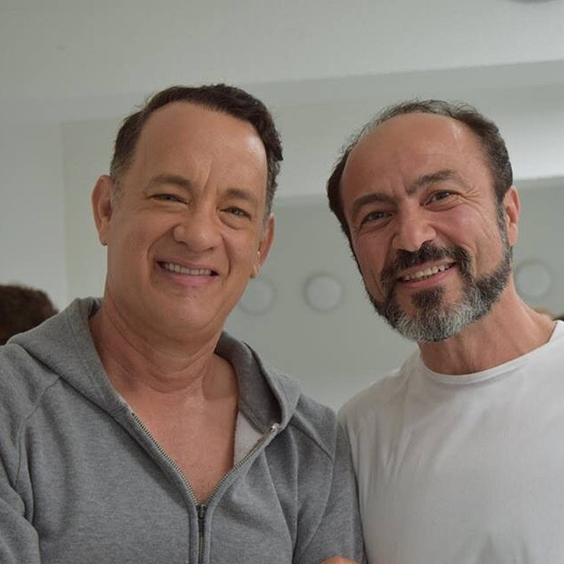 Tom Hanks and Jihad (Jay) Abdo