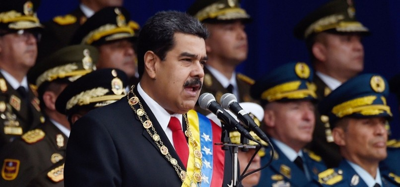 US OFFICIALS MET WITH VENEZUELAN OFFICERS TO PLOT COUP AGAINST MADURO, NYT REPORTS
