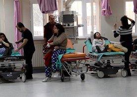 Sivas'ta özel yurtta kalan 68 üniversite öğrencisi doğalgazdan zehirlendi