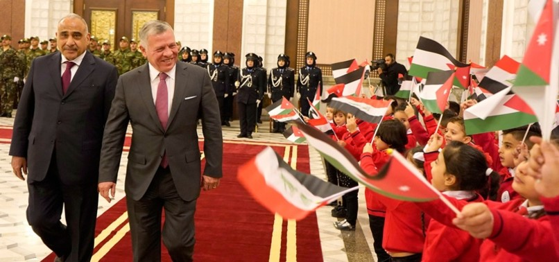 JORDANS KING ABDULLAH VISITS IRAQ FOR FIRST TIME IN A DECADE