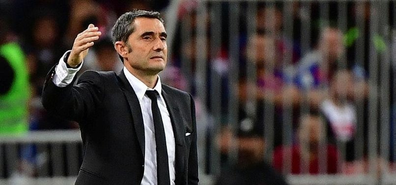 LA LIGA GIANTS BARCELONA SET TO FIRE THEIR COACH ERNESTO VALVERDE - REPORTS