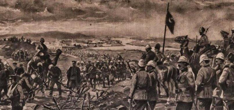 TURKEY MARKS 104TH ANNIVERSARY OF KUT AL-AMARA VICTORY