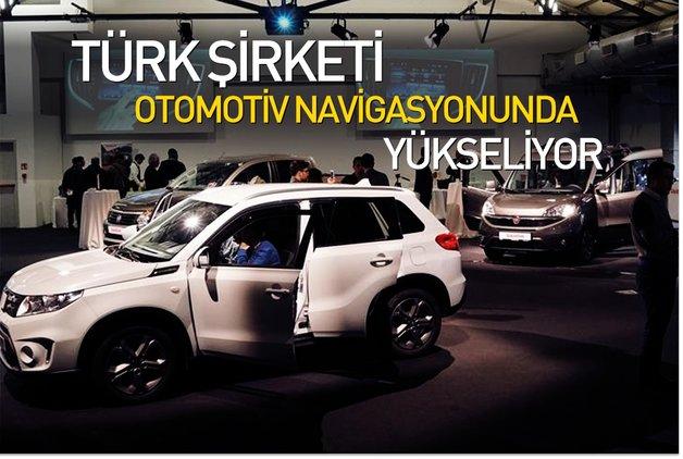Türk şirketi otomotiv navigasyonunda yükseliyor