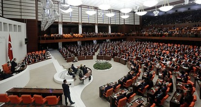 pTurkey's parliament Wednesday adopted the first five articles of a new constitutional reform package before a referendum likely to be held in April./p  pThe second round of voting over the...