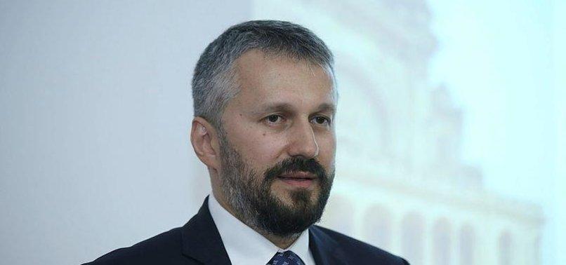 ROMANIA 'STRONGLY' BACKS TURKEYS EU MEMBERSHIP: ENVOY