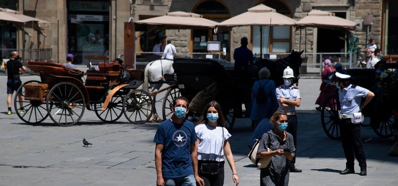 ITALY RECORDS 55 NEW CORONAVIRUS DEATHS AND 318 NEW CASES