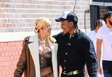 RiRi ve A$AP Rocky New York'ta Yeni Bir Müzik Videosu Çekiyor