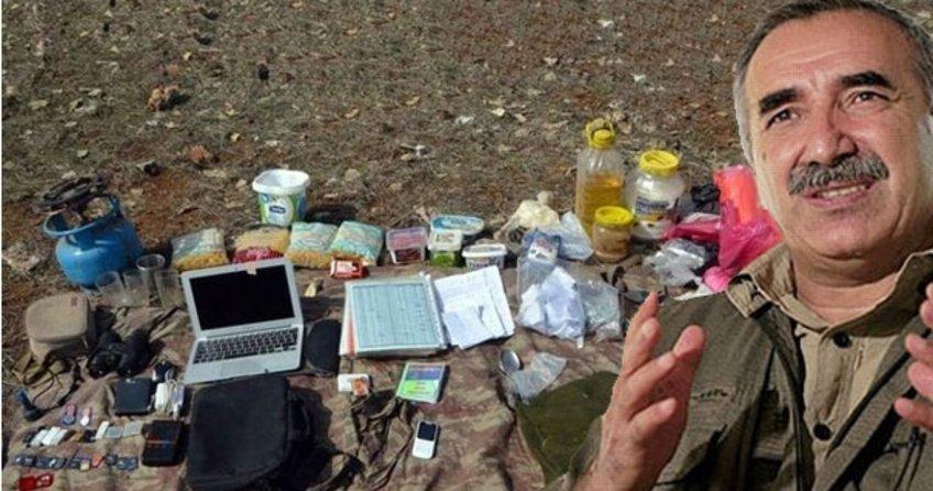 PKK'nın elebaşlarından Karayılan'ın sağ kolunun randevu defteri ortaya çıktı