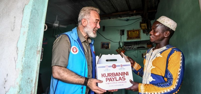 TURKISH CHARITY SENDS EID MEAT TO MILLIONS WORLDWIDE