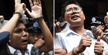 Reuters reporters in jail despite mass pardons in Myanmar