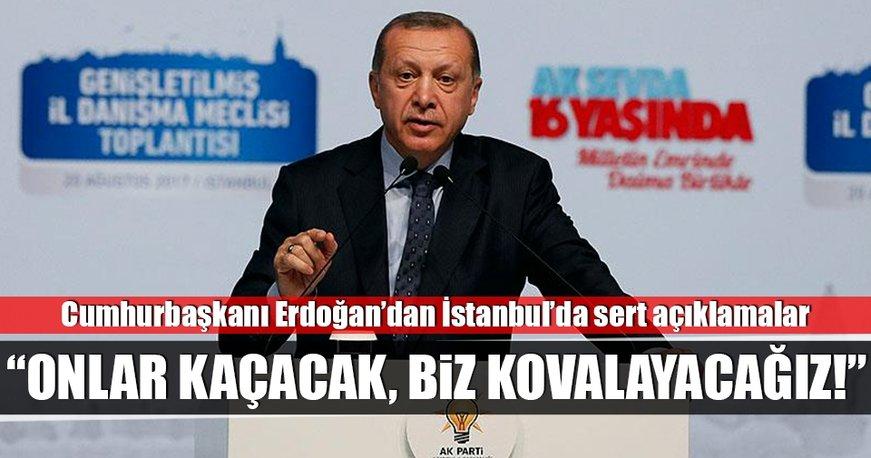 Cumhurbaşkanı Erdoğan'dan İstanbul'da önemli açıklamalar!