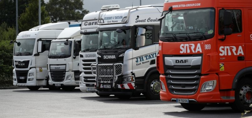 UK EYES VISA CHANGE TO EASE TRUCKER DROUGHT AMID RUN ON GAS