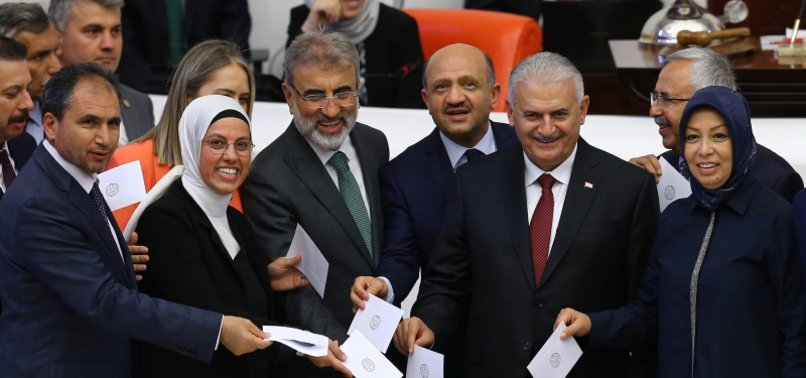 FORMER PM BINALI YILDIRIM BECOMES FIRST PARLIAMENT SPEAKER OF NEW SYSTEM